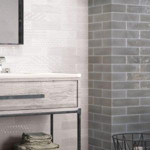 Azulejo Metro Cocina y Baño Serie Opal