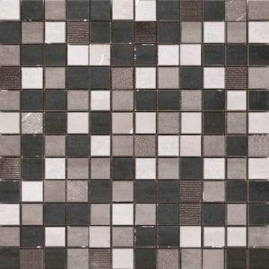 MOSAICO OXIGENO BLACK 30X30