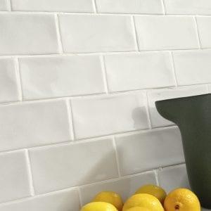 Azulejos tipo metro para Cocina y Baño Serie CRAQUELE 7.5x15