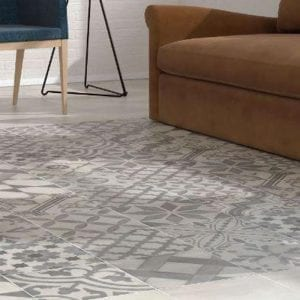 AMBIENTE SERIE 1920 MIX GREY 25X25