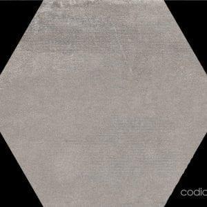 Hex 25 Atlanta Grey Hexagonal 22×25