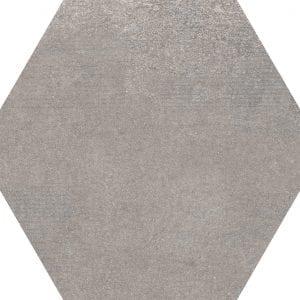 Hex 25 Atlanta Grey Hexagonal Variedad 2 22×25