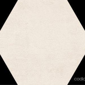 Hex 25 Atlanta Ivory Hexagonal 22×25