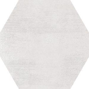 Hex 25 Atlanta White Hexagonal Variedad 2 22×25