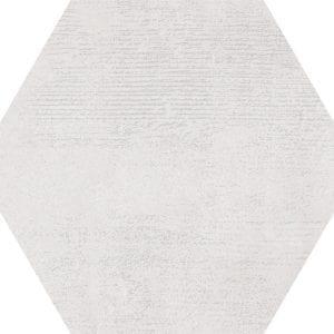 Hex 25 Atlanta White Hexagonal Variedad 3 22×25