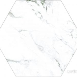 Hex 25 Calacatta Hexagonal 22×25
