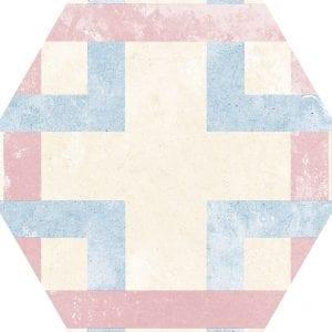 Heritage Mix Hex25 Hexagonal Variedad 1 22×25