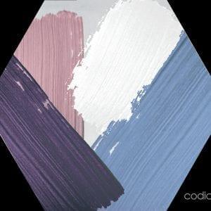 Hex 25 Rothko Mix Colors Hexagonal 22×25