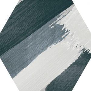 Hex 25 Rothko Mix Colors Variedad 2 Hexagonal 22×25