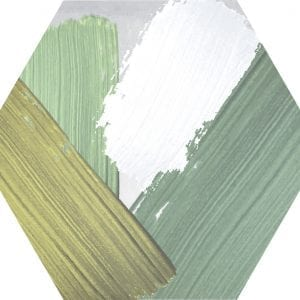 Hex 25 Rothko Mix Colors Variedad 3 Hexagonal 22×25