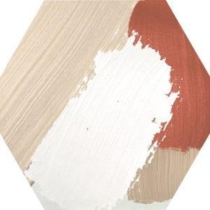 Hex 25 Rothko Mix Colors Variedad 4 Hexagonal 22×25