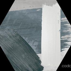 Hex 25 Rothko Mix Grey Hexagonal 22×25