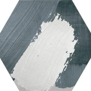 Hex 25 Rothko Mix Grey Variedad 1 Hexagonal 22×25