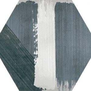 Hex 25 Rothko Mix Grey Variedad 2 Hexagonal 22×25