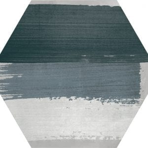 Hex 25 Rothko Mix Grey Variedad 4 Hexagonal 22×25