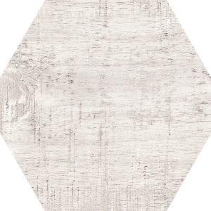 Hex 25 Sawnwood Grey Variedad 1 Hexagonal 22×25