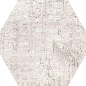 Hex 25 Sawnwood Grey Variedad 2 Hexagonal 22×25