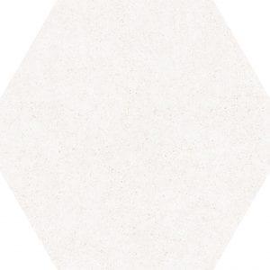 Hex 25 Vintage Blanco Hexagonal Variedad 1 22×25