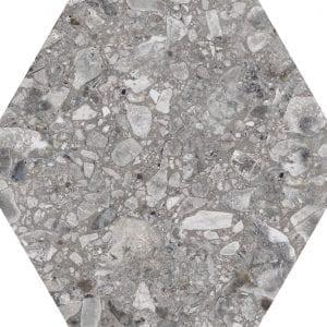 Iseo Natural Hexagonal Variedad 1 22×25