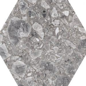 Iseo Natural Hexagonal Variedad 2 22×25