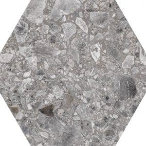 Iseo Natural Hexagonal Variedad 3 22×25