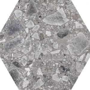 Iseo Natural Hexagonal Variedad 4 22×25