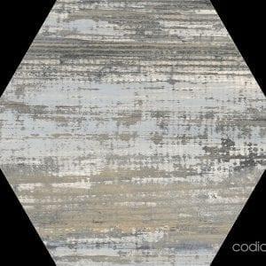 Suomi Grey Hexagonal 22×25