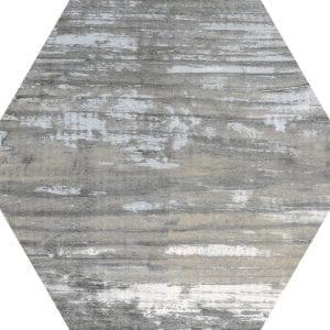 Suomi Grey Variedad 1 Hexagonal 22×25