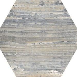 Suomi Grey Variedad 2 Hexagonal 22×25
