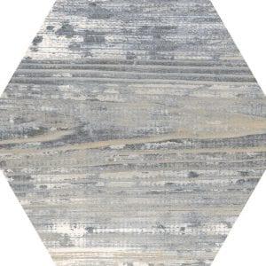 Suomi Grey Variedad 3 Hexagonal 22×25