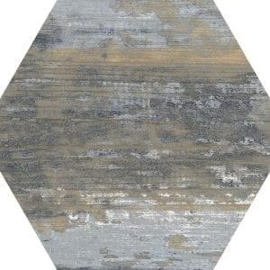 Suomi Grey Variedad 4 Hexagonal 22×25