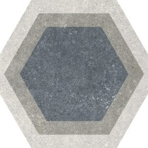 Traffic Combi Grey Mix Hexagonal Variedad 3 22×25