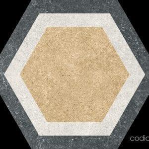 Traffic Combi Mix Hexagonal 25×25