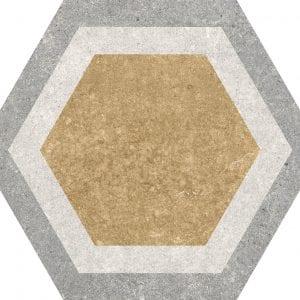 Traffic Combi Mix Hexagonal Variedad 2 25×25