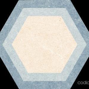 Traffic Hexacolor Mix Hexagonal 22×25