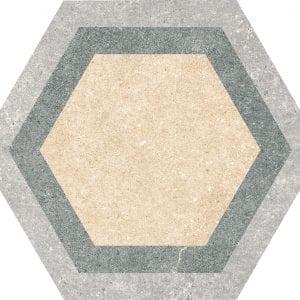 Traffic Hexacolor Mix Hexagonal Variedad 2 22×25