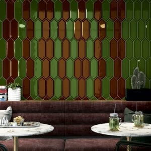 AMBIENTE PICKET BEVELED GRAPE Y FOREST