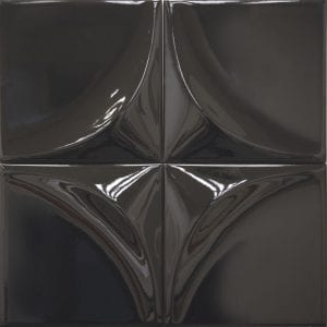 Vertex Curve Black 15×15