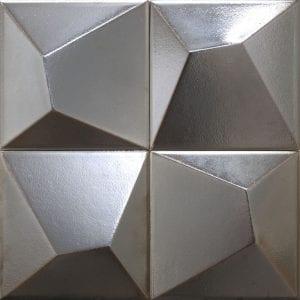 Vertex Line Silver 15×15