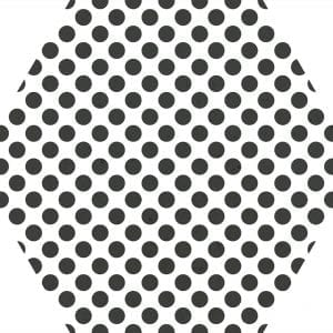 MOMA WHITE HEX 25-VARIACION 4